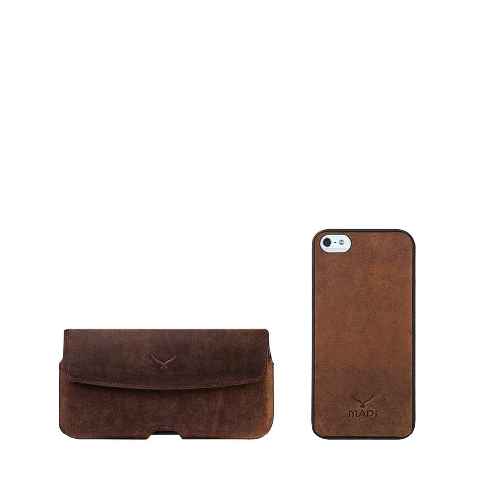 Belt Case + Snap on Case for iPhone SE / 5S / 5.