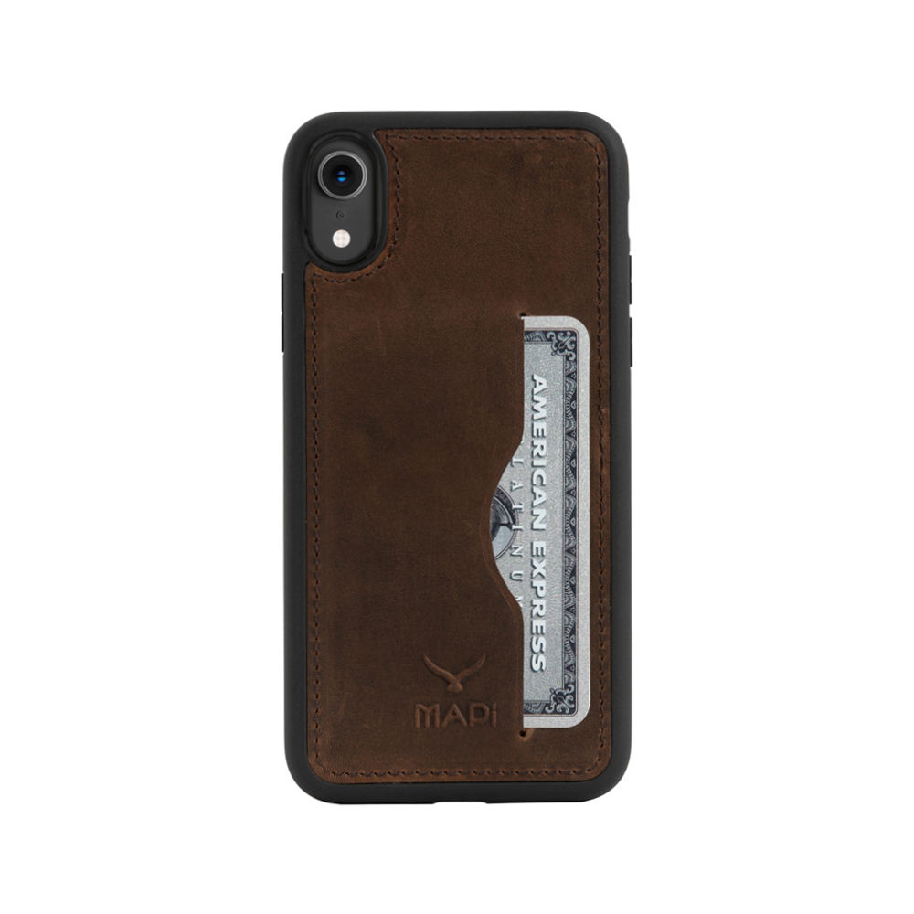 Snap on Case With Card Holder for iPhone XR