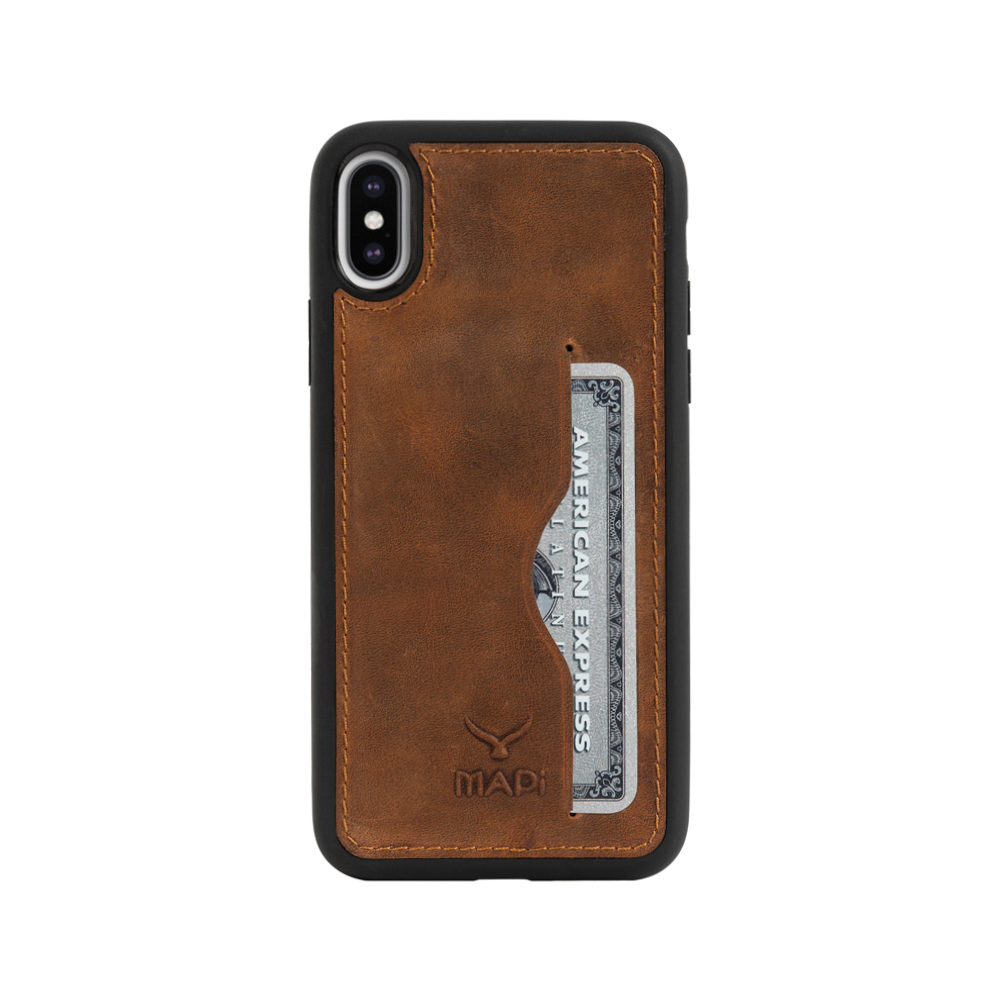 Snap on Case With Card Holder for iPhone XS